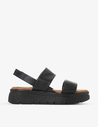 Bertie Larsen leather platform sandals