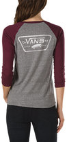 Vans Authentic Trap Baseball Tee