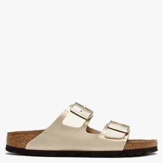 Birkenstock Arizona Gold Birko-Flor Two Bar Mules