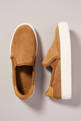 UGG Cahlvan Slip-On Sneakers By in Brown Size 6