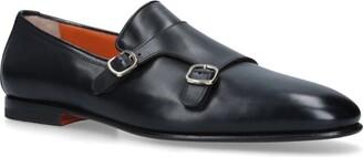 Santoni Carlos Double Monk Shoes