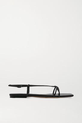 Studio Amelia 3.41 Leather Sandals - Black