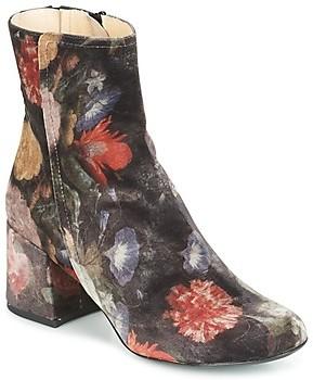 Miss L Fire Miss L'Fire JEANIE women's Low Ankle Boots in Multicolour