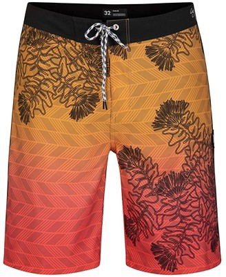 Hurley 20 Phantom Sig Zane Wailehua Boardshorts (Obsidian) Men's Swimwear