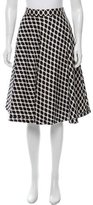 Diane von Furstenberg Printed Knee-Length Skirt
