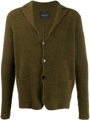 Roberto Collina long-sleeve fitted cardigan
