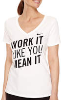 Nike Short-Sleeve V-Neck T-Shirt