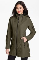 Ilse Jacobsen Women's Rain 7 Hooded Water Resistant Coat