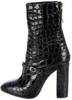 No.21 No. 21 Embossed Patent Leather Ankle Boots
