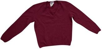 Courreges Burgundy Wool Knitwear for Women Vintage