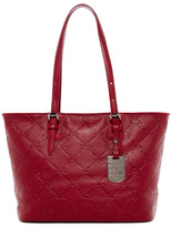 Longchamp Leather Medium Shoulder Tote