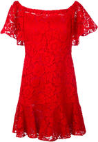 Valentino guipure lace mini dress - women - Silk/Cotton/Polyamide/Viscose - 42