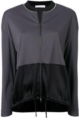 Fabiana Filippi contrast panels lightweight jacket