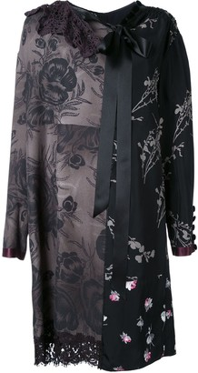 Marc Jacobs Floral Patchwork Shift Dress