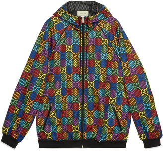Gucci Oversize GG Psychedelic print jacket