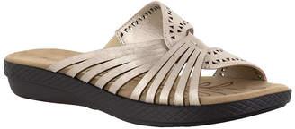 Easy Street Shoes Womens Tula Slide Sandals