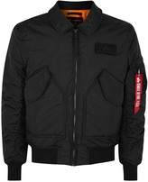 Alpha Industries Cwu Black Shell Flight Jacket