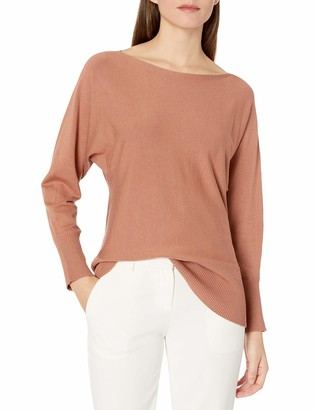 Lark & Ro Women's Standard Long Blouson Sleeve Woven Blouse LEOPARD