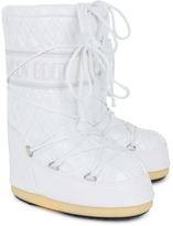 Moon Boot White Quilted Queen Moon Boots