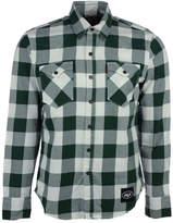 Levi's Men's New York Jets Plaid Button-Up Shirt
