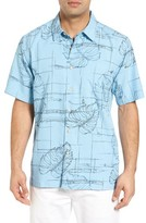 Quiksilver Men's Waterman Collection Big Kine Camp Shirt
