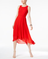 Vince Camuto High-Low Chiffon Dress