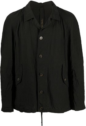 Forme D'Expression Notched Collar Windbreaker