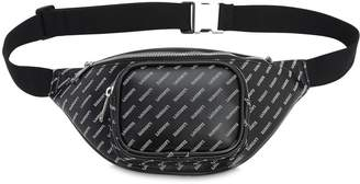Lacoste All Over Logo Pvc Belt Bag