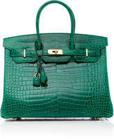 Heritage Auctions Special Collections Hermès 35cm Vert Emerald Shiny Porosus Croc Birkin