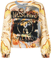 Moschino Fresco print sweatshirt - women - Cotton - 38