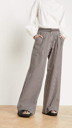 Bohemia Alix of Diana Houndstooth Trousers