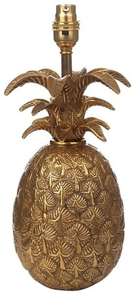 Pineapple Brass Lamp Stand