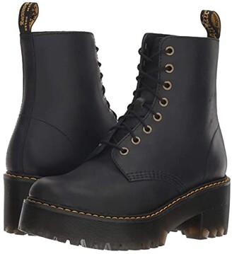 Dr. Martens Shriver Hi Sanguine (Black Wyoming) Women's Boots