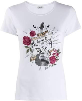 Liu Jo Born To Rock guitar T-shirt