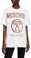 Moschino Logo Graphic Unisex T-Shirt