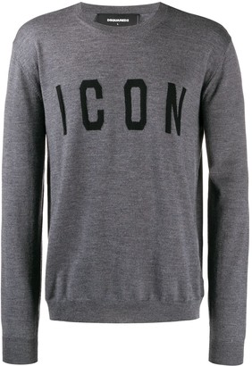 DSQUARED2 Icon knit jumper