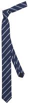 HUGO BOSS HUGO by Stripe Silk Tie, Navy