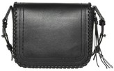 Mackage Nova Flap Crossbody Bag In Black