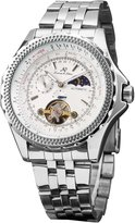 K&S KS 24 Hours Tourbillion Automatic Mechanical Moon Phase Men's Sport Watch KS071