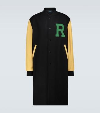 Raf Simons Long-length wool coat