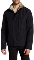 Andrew Marc Syracuse Faux Fur Collar Jacket