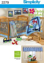 Simplicity Sewing Pattern 2279 Nursery Home Decorating, One