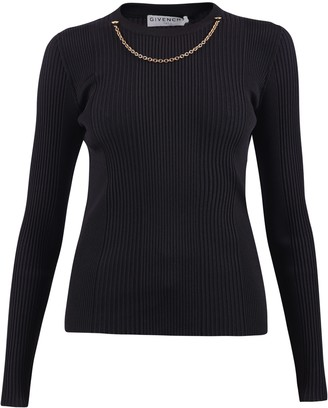 Givenchy Chain Insert Sweater