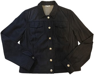 Cacharel Blue Cotton Jacket for Women Vintage