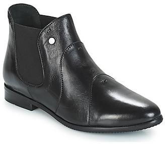 Hush Puppies GELTRUD women's Mid Boots in Black