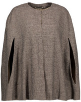 Alice + Olivia Lavaughn Checked Knitted Cape
