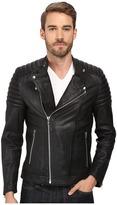 Goosecraft - Sheep Skin Bristol Biker Jacket Men's Coat