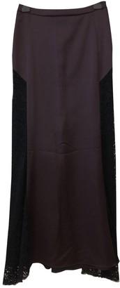 Just Cavalli Burgundy Skirt for Women