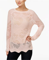 INC International Concepts Pointelle Sweater, Only at Macy's