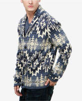 Lucky Brand Men's Ombre Heritage Shawl-Collar Cardigan